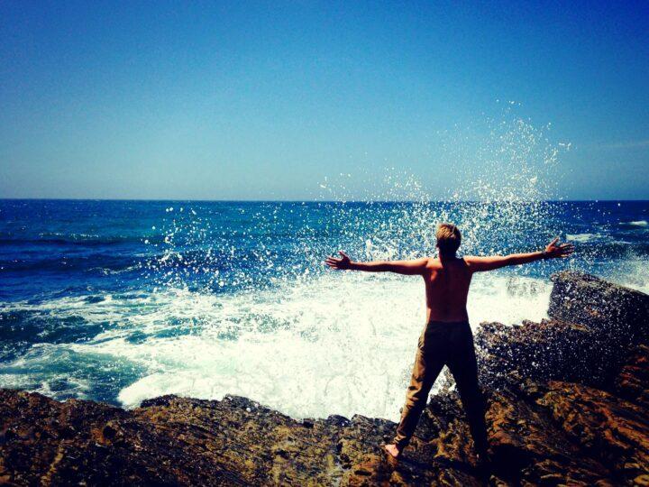Waves , ocean joy.
