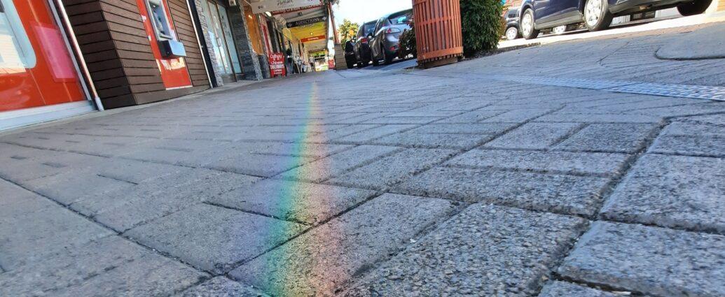 Rainbow Pavement