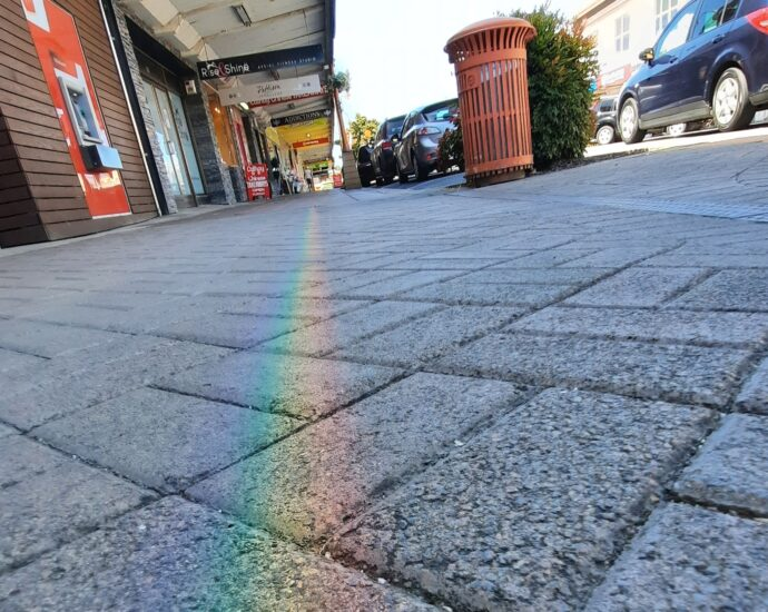 Rainbow Pavement