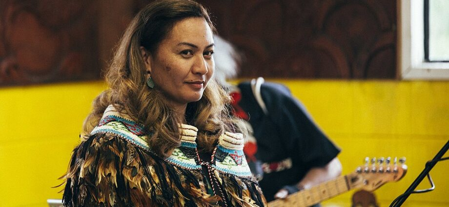 Marama_Davidson's_marae_and_whānau_celebrates_her_appointment_of_co-leader_in_2018